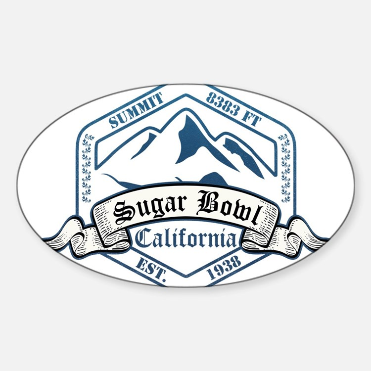 Sugar Bowl Ski Resort California Decal