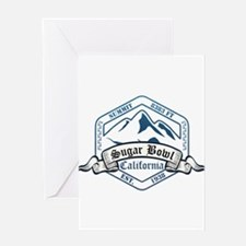 Sugar Bowl Ski Resort California Greeting Cards