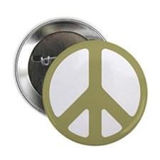 Avocado Peace Sign Button