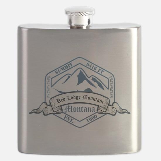 Red Lodge Mountain Ski Resort Montana Flask