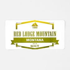 Red Lodge Mountain Ski Resort Montana Aluminum Lic