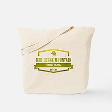Red Lodge Mountain Ski Resort Montana Tote Bag