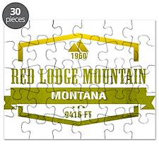 Red Lodge Mountain Ski Resort Montana Puzzle