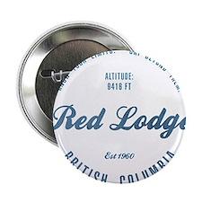 "Red Lodge Mountain Ski Resort Montana 2.25"" Button"