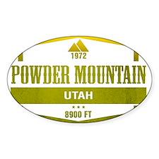 Powder Mountain Ski Resort Utah Decal