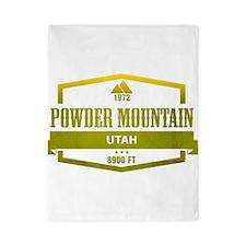 Powder Mountain Ski Resort Utah Twin Duvet