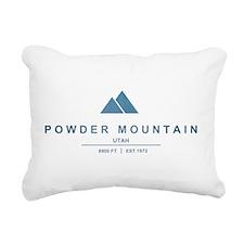 Powder Mountain Ski Resort Utah Rectangular Canvas