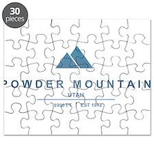 Powder Mountain Ski Resort Utah Puzzle