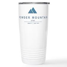 Powder Mountain Ski Resort Utah Travel Mug