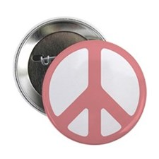 Salmon Peace Sign Button