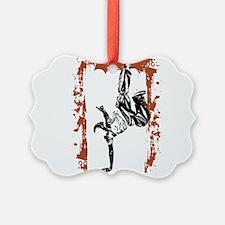 Breakdancer Ornament