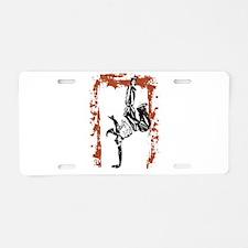 Breakdancer Aluminum License Plate