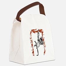 Breakdancer Canvas Lunch Bag