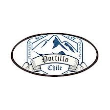 Portillo Ski Resort Chile Patches
