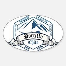 Portillo Ski Resort Chile Decal