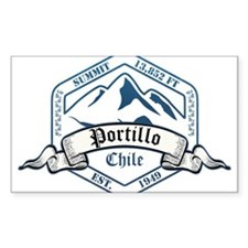Portillo Ski Resort Chile Decal