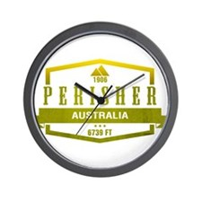 Perisher Ski Resort Australia Wall Clock