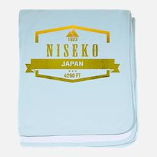 Niesko Ski Resort Japan baby blanket