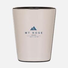 MT Rose Ski Resort California Shot Glass