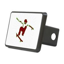 Skateboarder Hitch Cover