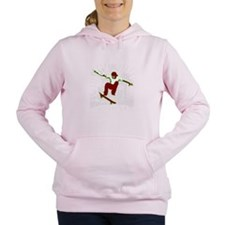 Skateboarder Women's Hooded Sweatshirt