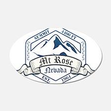 MT Rose Ski Resort Nevada Wall Decal