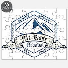 MT Rose Ski Resort Nevada Puzzle