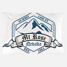 MT Rose Ski Resort Nevada Pillow Case