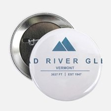 "Mad River Glen Ski Resort Vermont 2.25"" Button"