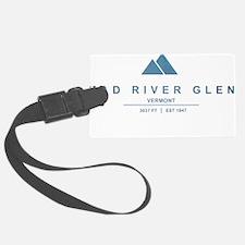 Mad River Glen Ski Resort Vermont Luggage Tag