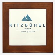 Kitzbuhel Ski Resort Austria Framed Tile