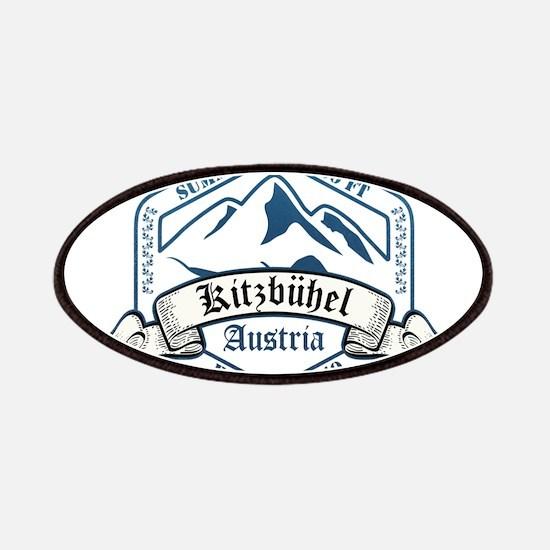 Kitzbuhel Ski Resort Austria Patches