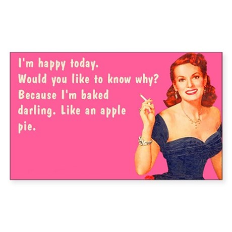 Im Happy Today Sticker