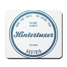 Hintertuxer Ski Resort Austria Mousepad