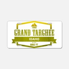 Grand Targhee Ski Resort Idaho Aluminum License Pl