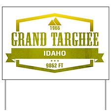 Grand Targhee Ski Resort Idaho Yard Sign