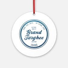 Grand Targhee Ski Resort Idaho Ornament (Round)