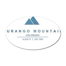 Durango Mountain Ski Resort Colorado Wall Decal