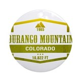 Durango colorado Round Ornaments