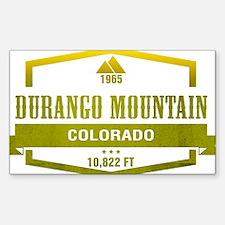 Durango Mountain Ski Resort Colorado Decal