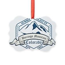 Durango Mountain Ski Resort Colorado Ornament