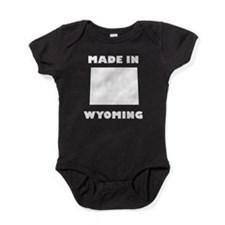 Made In Wyoming Baby Bodysuit