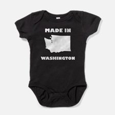 Made In Washington Baby Bodysuit