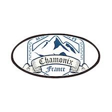Chamonix Ski Resort France Patches