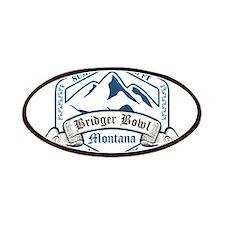 Bridger Bowl Ski Resort Montana Patches