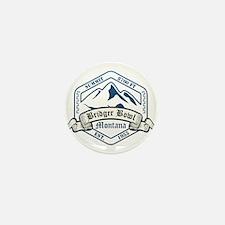Bridger Bowl Ski Resort Montana Mini Button