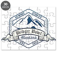 Bridger Bowl Ski Resort Montana Puzzle