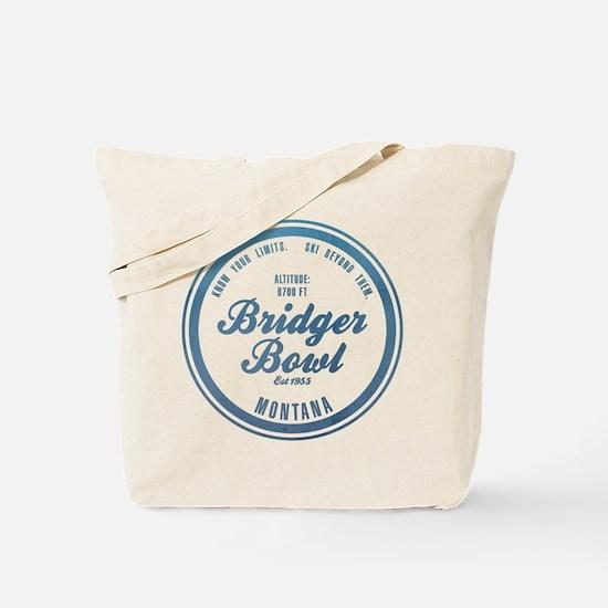 Bridger Bowl Ski Resort Montana Tote Bag