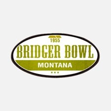 Bridger Bowl Ski Resort Montana Patches