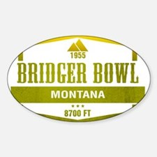 Bridger Bowl Ski Resort Montana Decal